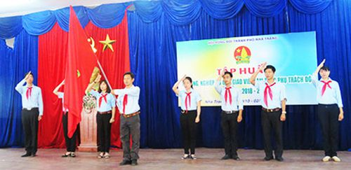Tập huấn công tác đội cho 67 giáo viên Tổng phụ trách