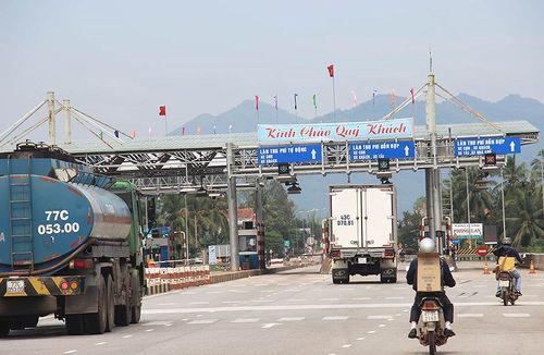 BOT Bắc Bình Định thu phí trở lại từ 21 giờ hôm nay