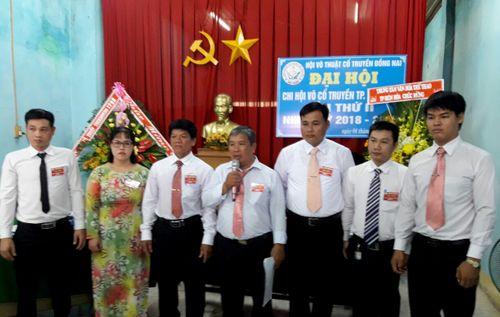 Chi hội võ thuật cổ truyền TP. Biên Hòa đại hội khóa II