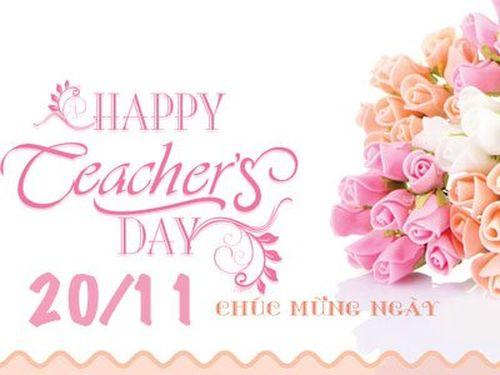 Lời chúc ngày 20/11 dành cho người yêu, bạn gái làm cô giáo hay nhất