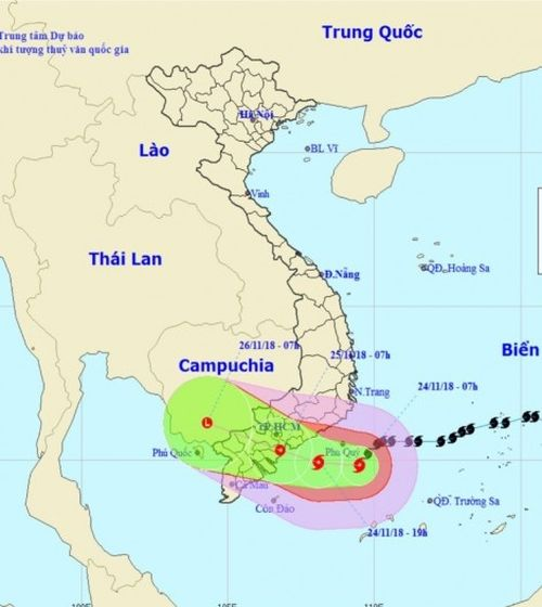 TP Cần Thơ tập trung nhiều phương án ứng phó hoàn lưu cơn bão số 9