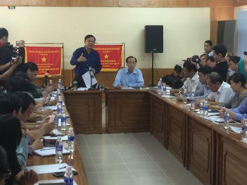 Bộ trưởng Nguyễn Xuân Cường: Không thể chủ quan với cơn bão số 9