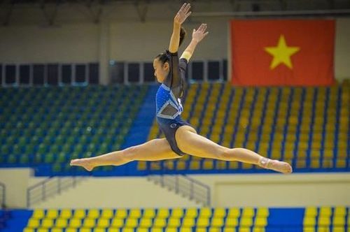 Nguyễn Tienna Katelyn vô địch thể dục dụng cụ toàn năng nữ