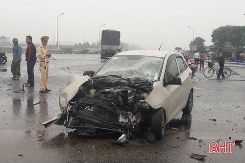 'Điểm đen' tai nạn giao thông tại ngã tư QL 1A và tuyến tránh Nam thành phố Hà Tĩnh