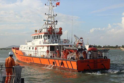Tìm thấy thi thể 1 thuyền viên vụ tàu chìm tại Vũng Tàu