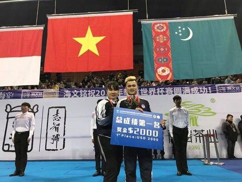 Việt Nam thắng lớn tại Giải cử tạ thế giới