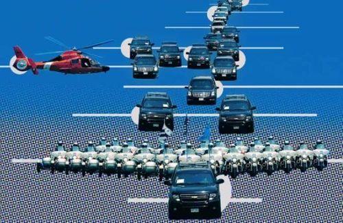 Những xe nào xuất hiện trong đoàn hộ tống Tổng thống Mỹ Donald Trump?