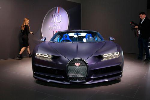 Soi chi tiết siêu phẩm kỷ niệm 110 năm thành lập của Bugatti