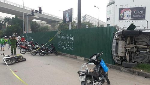 Nữ tài xế Mercedes khai gì sau tai nạn kinh hoàng ở gầm cầu Dịch Vọng?