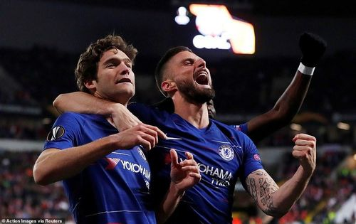Chelsea đặt một chân vào bán kết Europa League