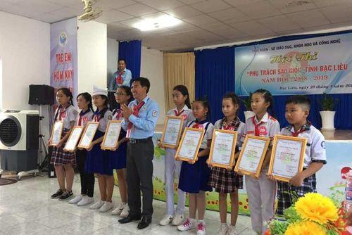 Sôi nổi Hội thi 'Phụ trách Sao giỏi' tỉnh Bạc Liêu