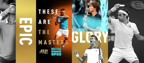Madrid Open 2019: Djokovic, Federer, Del Potro, Thiem cùng vào chung nhánh đấu