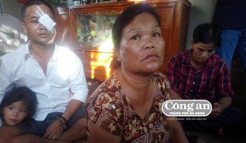 3 mẹ con tố cáo bị hàng xóm đánh, chém phải nhập viện