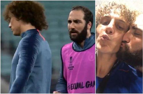 Luiz và Higuain 'diễn sâu' khiến Arsenal chủ quan?