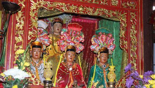Huyền tích về Dương Quý Phi và tục thờ Tứ vị Thánh Nương