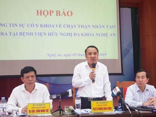 Sự cố chạy thận tại Nghệ An: Hệ thống dẫn nước RO nhiễm khuẩn