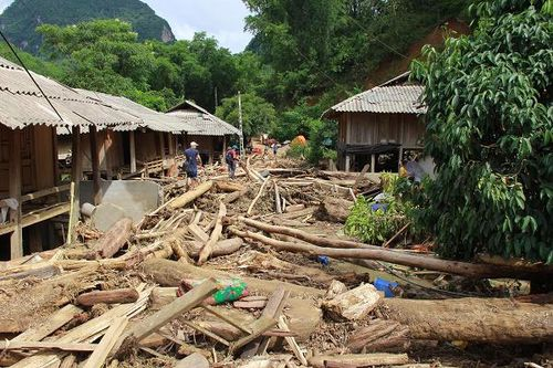 Thanh Hóa: Huy động các nguồn lực khắc phục hậu quả mưa lũ