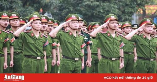 Học viện Cảnh sát nhân dân công bố điểm chuẩn năm 2019