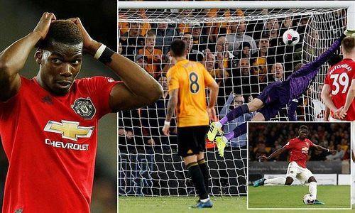 Pogba hỏng 11m, MU lỡ cơ hội lên ngôi đầu Premier League