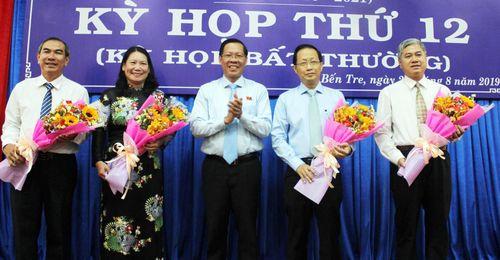 Bến Tre có 2 tân Phó Chủ tịch UBND tỉnh