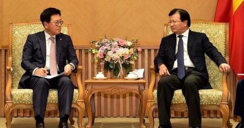 Phó Thủ tướng Trịnh Đình Dũng: Việt Nam luôn khuyến khích các nhà đầu tư uy tín của Hàn Quốc mở rộng sản xuất kinh doanh
