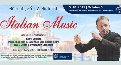 Chương trình đêm nhạc Italy
