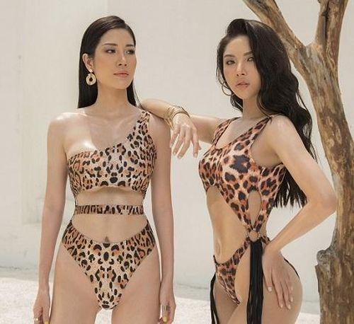 'Cô dâu' kém 24 tuổi của Ngọc Sơn diện bikini bốc lửa