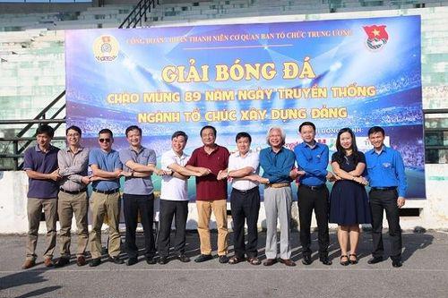 Giải bóng đá chào mừng 89 năm Ngày truyền thống Ngành Tổ chức xây dựng Đảng Cúp 14-10 lần thứ nhất