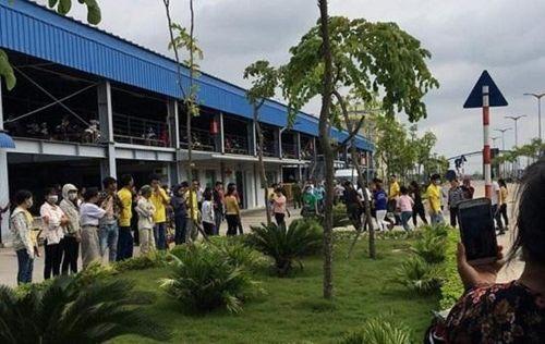 Nam Định: Hàng loạt công nhân tiếp tục ngất xỉu sau khi công ty đã khắc phục sự cố