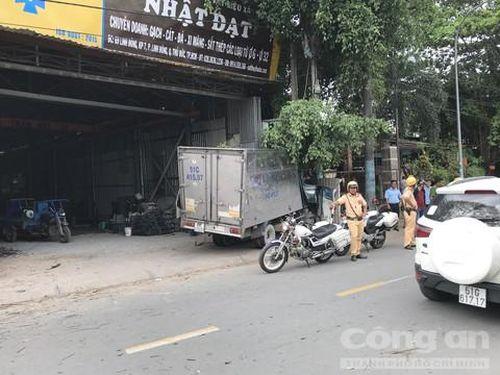 Nghi phạm trộm xe tải rồi gây tai nạn liên hoàn vừa xuất viện tâm thần