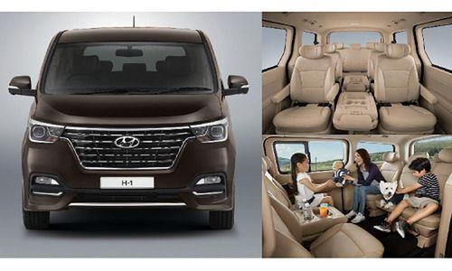Hyundai ra mắt H-1 và Grand Starex mới từ 1,32 tỷ đồng
