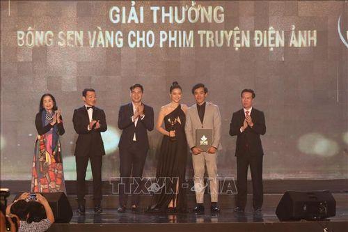 Bế mạc Liên hoan Phim Việt Nam lần thứ XXI: Phim Song Lang đạt giải Bông sen Vàng thể loại phim truyện điện ảnh