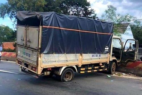 Trộm xe tải lái về TP.HCM, bị khuất phục sau hơn 20km bỏ chạy