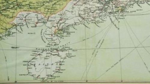 Bản đồ Trung Quốc gián tiếp công nhận Trường Sa và Hoàng Sa là của Việt Nam