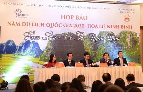 Năm Du lịch Quốc gia 2020 với chủ đề 'Hoa Lư – Cố đô ngàn năm'