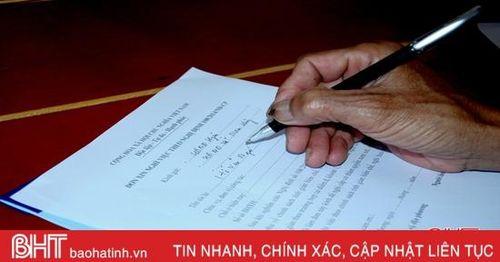 Hà Tĩnh có 1.188 cán bộ, công chức, người hoạt động bán chuyên trách xã xin nghỉ theo chính sách 164