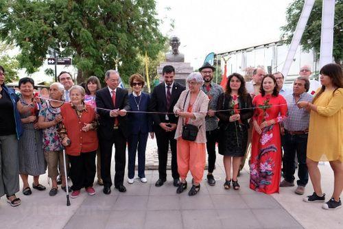 Khánh thành công trình cải tạo Công viên Hồ Chí Minh tại Chile
