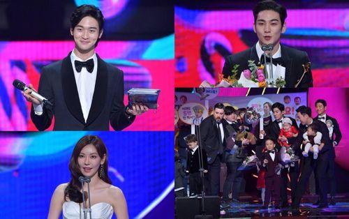 Kết quả 'KBS Entertainment Awards 2019': Các ông bố của 'Siêu nhân trở lại' nhận giải Daesang