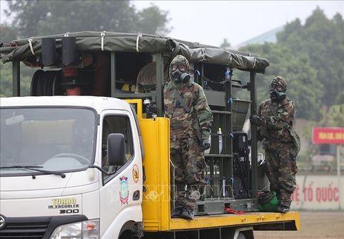 Diễn tập thực binh ứng phó sự cố phóng xạ xuyên biên giới