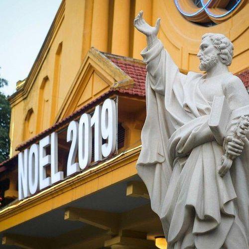 Hà Nội: Hàng loạt nhà thờ trang hoàng trước giờ đón giáng sinh