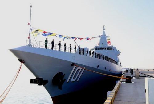 Trung Quốc chính thức biên chế khu trục hạm Type 055 đầu tiên