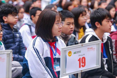 Hơn 1.200 thí sinh tranh tài cuộc thi Olympic Tiếng Anh giành giải thưởng 3 tỷ đồng