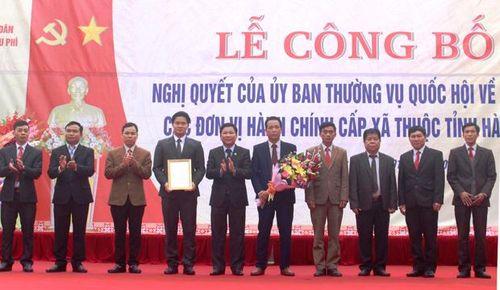 Hà Giang: Sáp nhập xã Bản Péo vào xã Nậm Dịch (Hoàng Su Phì)