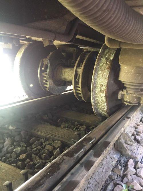 Khắc phục xong sự cố tàu lửa bị trật bánh ở đèo Hải Vân