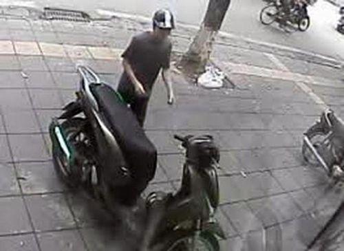 Bắt ngay đối tượng trộm cắp chiếc xe Honda SH