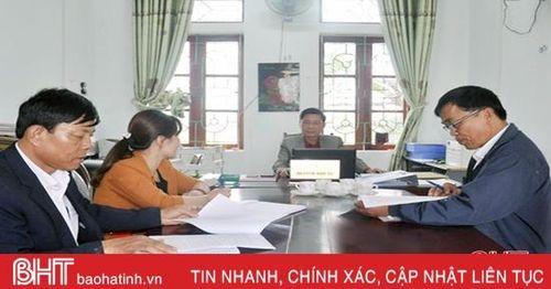Xã, thị trấn mới ở Hà Tĩnh gấp rút chuẩn bị đại hội Đảng nhiệm kỳ 2020 - 2025