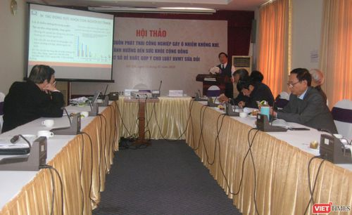 Đánh giá về ô nhiễm môi trường tại Việt Nam: Các biện pháp tài chính cần được đẩy mạnh