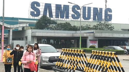 Samsung chạy đua bảo vệ các nhà máy Việt Nam trước dịch Corona
