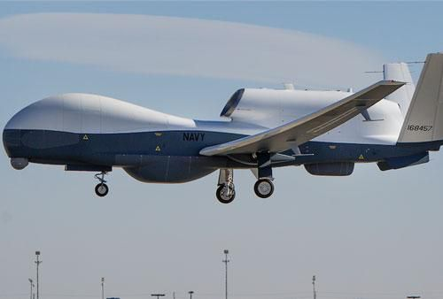 Hải quân Mỹ triển khai drone hạng nặng tối tân tới sát nách Trung Quốc