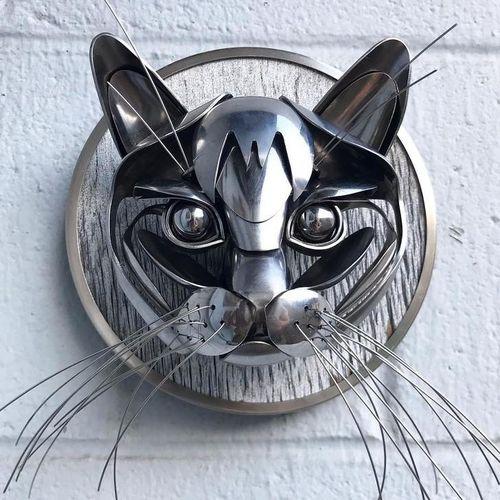 14 tác phẩm nghệ thuật từ bạc tái chế khiến ai cũng phải trầm trồ